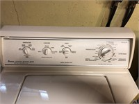 Amana stainless designer series washing machine