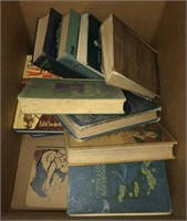Box lot of vintage books