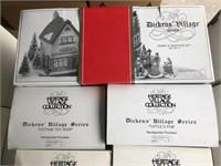 Lot Of 7 Department 56 Dickens Village Series