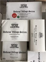 Lot Of 6 Department 56 Dickens Village Series