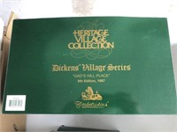 Lot Of 7 Department 56 Dickens Village Series
