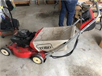 Toro Key-lectric rear bagging mower