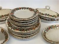Early English Bone China Childs Dinnerware