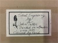 Steel Engraving by Jaohn Tallis
