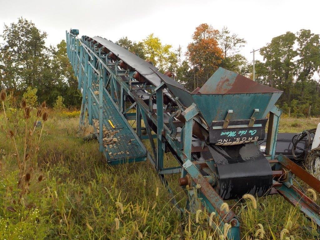 55' N/N Electric Rock Conveyor | Mark S  Knoch Auctions