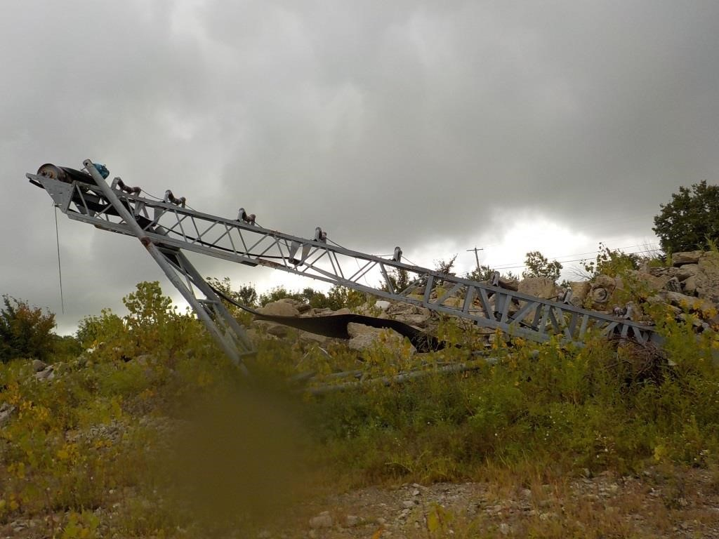 24' N/N Electric Rock Conveyor | Mark S  Knoch Auctions