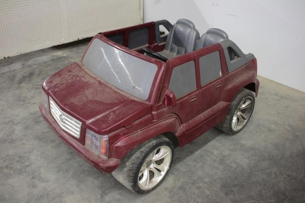 power wheels cadillac escalade kids electric car spencer sales power wheels cadillac escalade kids