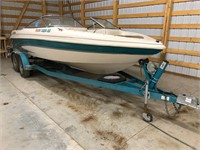 1998 Glastron GS205 Boat, 1998 Metal-Craft Trailer