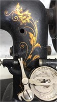 """Antique """"Domestic"""" Cast Iron Manual Sewing"""