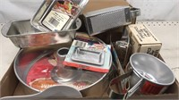 Lot of New Old Stock Aluminum Cooking & Kitchen