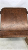 """Antique """"Domestic"""" Sewing Machine Wooden Cover"""