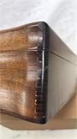 "Vintage Wooden Keepsake / Jewelry Box 13x11x4"""