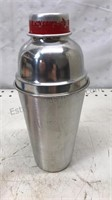 Vintage Aluminum Cocktail Shaker / Strainer with