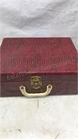 Lot of 2 Vintage Jewelry / Keepsake boxes