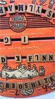 Antique 1940 Cressco Reversible Educational Board