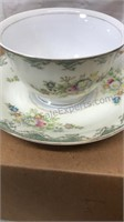 Lot of 5 Bone China Cup and Saucer Sets