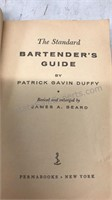 Vintage Bartenders Guides and Cocktail Mixer