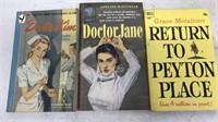 Lot of 9 Vintage Paperback Pulp Fiction Books