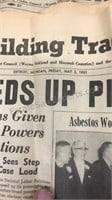 Lot of 1950-60s Building Trades Papers &