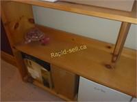 Solid Pine Storage Shelving Unit