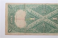 Large 1917 United States One Dollar Banknote