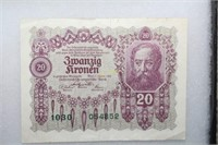 Early-Mid 1900s Foreign Currency
