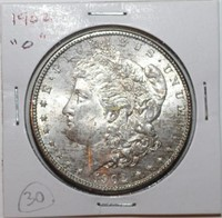 1902-O Morgan Silver Dollar