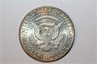 1964 90% Silver Memoriam Kennedy Half Dollar