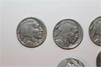 Twenty Four Buffalo Nickels