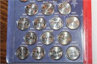 Set of 50 State Quarters