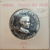 1927 Lindbergh So-Called Half Dollar