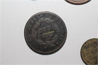 No Date or Damaged Liberty Head and Wheat Pennies