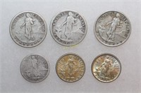 Silver Centavos - United States of America Coins