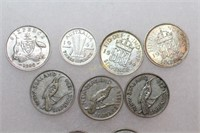Silver Pence Coins