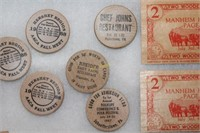 Wooden Nickels and Bars