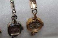 Three Vintage Ladies Wrist Watches