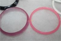 Plastic Bangle Bracelets