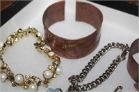 Copper and Metal Men's and Women's Bracelets
