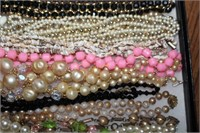 Beautiful Beaded, Seed, and Shell Necklaces
