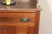 Granite Top Wash Stand