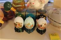 Avon Porcelain Treasure Eggs and More