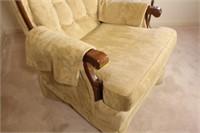 Upholstered Carolina Comfort Arm Chair