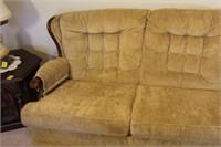 Upholstered Carolina Comfort Sofa