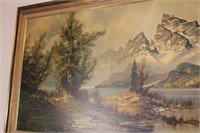 High Glory by Wijmer Framed Painting