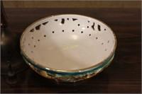 Handbells and Decorative Dish