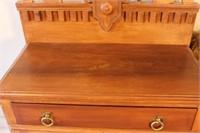 Ornate Wooden Cabinet