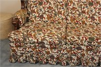 Stanley Wooden and Upholstered Sofa
