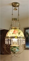 Painted Victorian Style Chandelier
