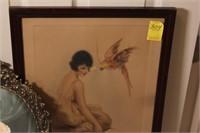 Framed Girl Prints