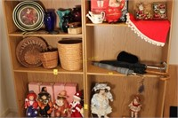 Wooden Shelf Unit with Extra Shelves
